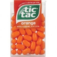Orange Tic Tacs