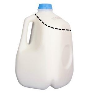 Reuse milk jugs Harvest