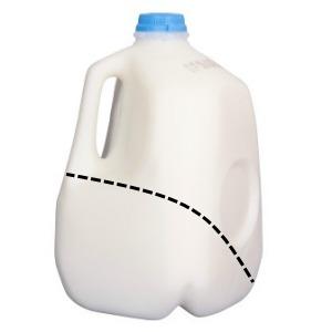 Reuse milk jugs Scoop