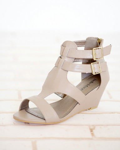 Sally Double Strap Wedges — $14.97