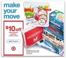Target Board Game Coupon