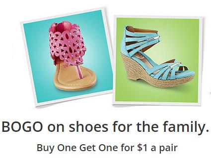 BOGO 1 Kmart Shoes