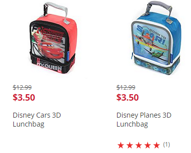 Disney Cars Lunchbag