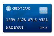 Maxed out a credit card