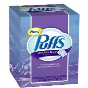 Puffs Tissues Only 74¢ at CVS...