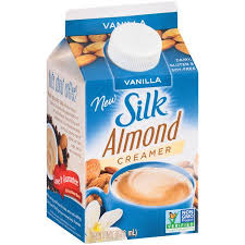 Silk Almond Coffee creamer