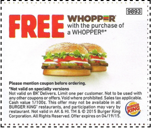 bk coupon