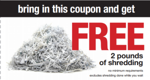 free shredding