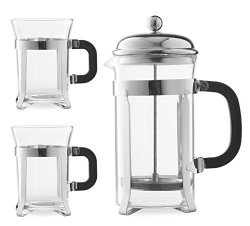 french press set