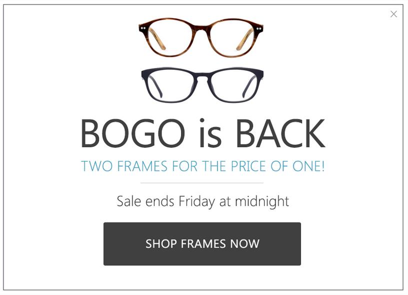eye buy direct BOGO