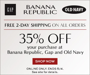 Returns & exchanges are subject to Banana Republic Factory's Return Policy. Extra 15% off your purchase: Excludes Clearance, Leather, Cashmere & Gift Cards. Offer valid 10/1/18 from AM PST through 10/30/18 PM PST at Banana Republic Factory online & in stores in the U.S. (including Puerto Rico) only.