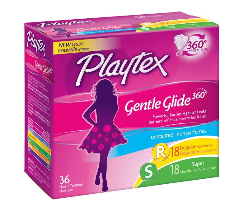playtex gentle glide