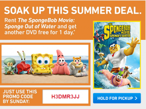 spongebob deal