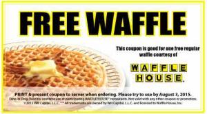 free waffle