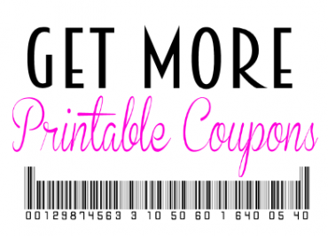 get more printable coupons