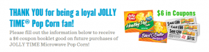 jolly time coupon book
