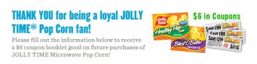 jolly time coupon book