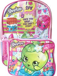 shopkins backpack set