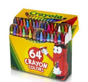 crayola 64 ct
