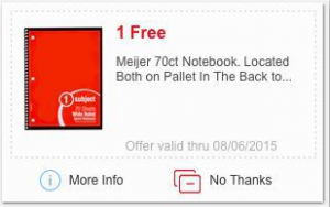 free meijer notebook