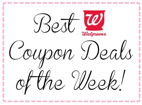 best walgreens coupon deals