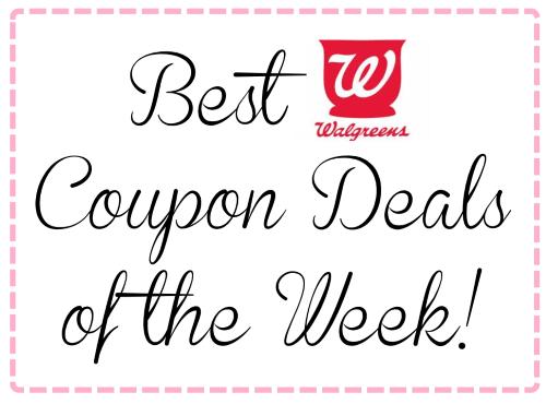 best walgreens coupon deals