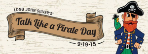 long john silvers talk like a pirate day