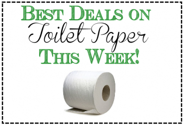 Best deals on toilet paper