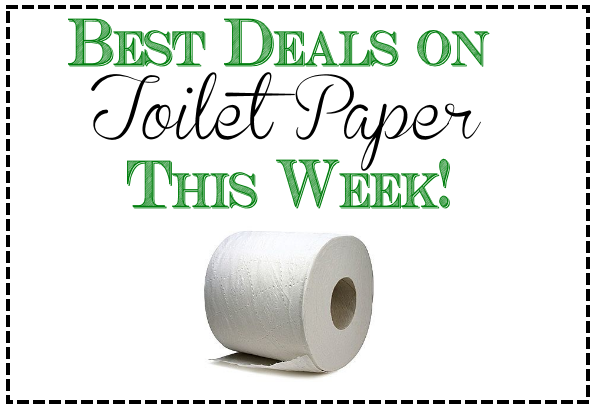 Best deals on toilet paper