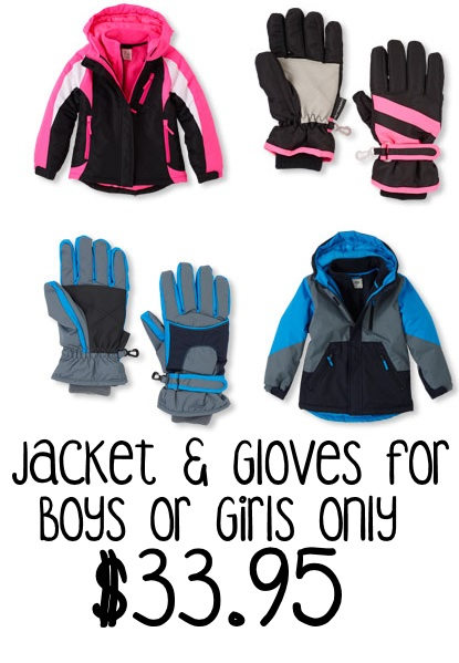 jacket and gloves childrens place