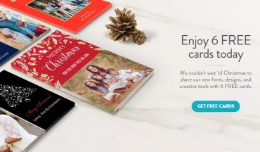 snap holiday cards