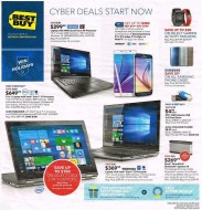 Best Buy Cyber Monday ad - Page 1