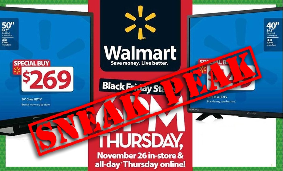 Walmart Black Friday 2015 Ad Sneak Peek Preview