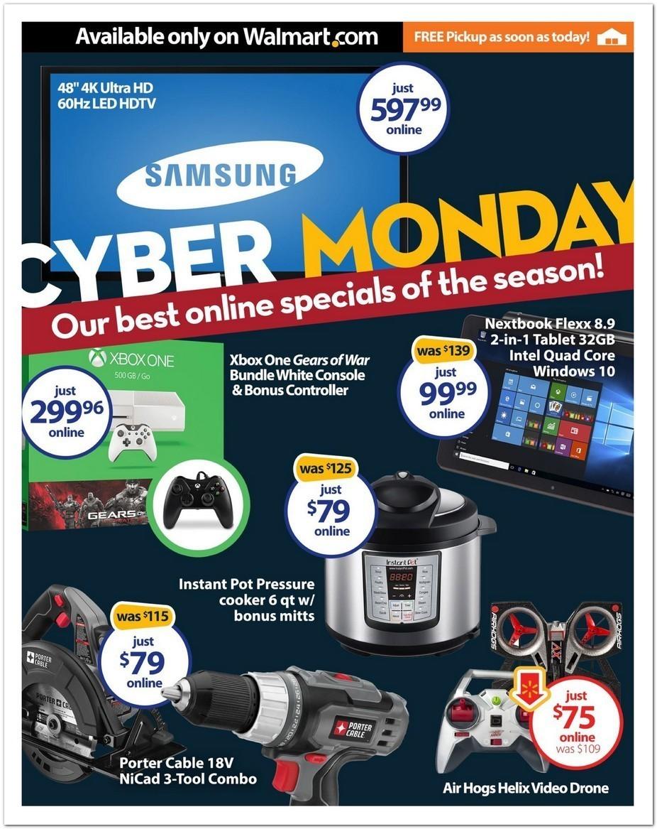 Walmart Cyber Monday ad - Page 1