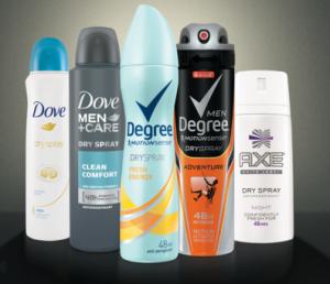 deodorant sample