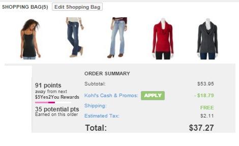 kohls jrs purchase