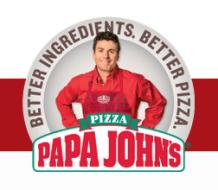 papa johns half off