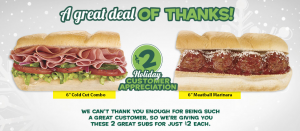 subway 2 subs