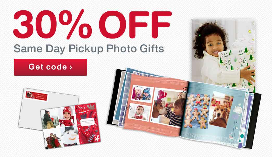 You can pick your photographic prints up in the same day at one over 18, CVS, Walmart, Walgreens & Duane Reade Store locations. Most orders are ready in about 1 hour. With same day store pickup, not only will you have your photos quickly but you won't have to pay for shipping!