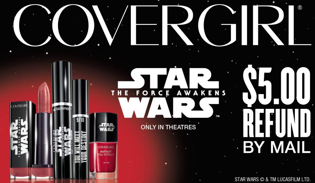 Star Wars mascara rebate