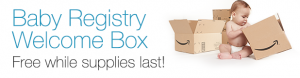 baby registry box