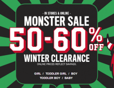 moster sale