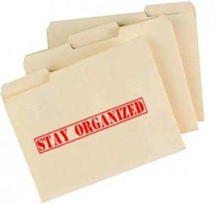 stay organized