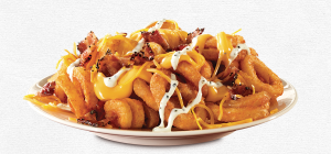 free loaded curly fries