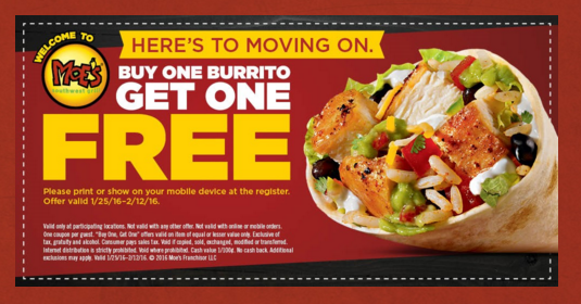Moes catering coupon code