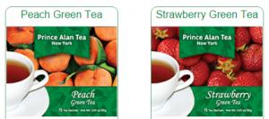 prince alan tea sample