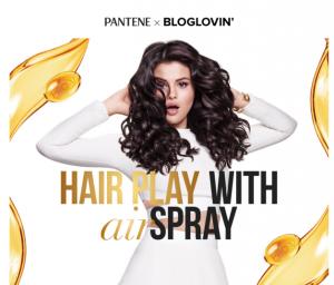 free pantene air spray
