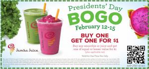presidents day bogo jamba juice