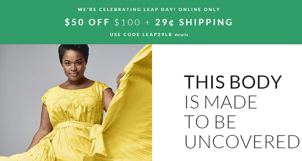 Nov 20,  · Earn 3% cash back at Lane Bryant Shop Now You may earn 3% cash back, up to a maximum of $ per transaction, for each qualifying purchase made at redlightsocial.ml