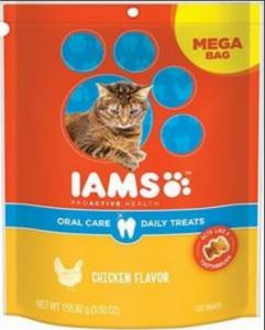 iams cat treats
